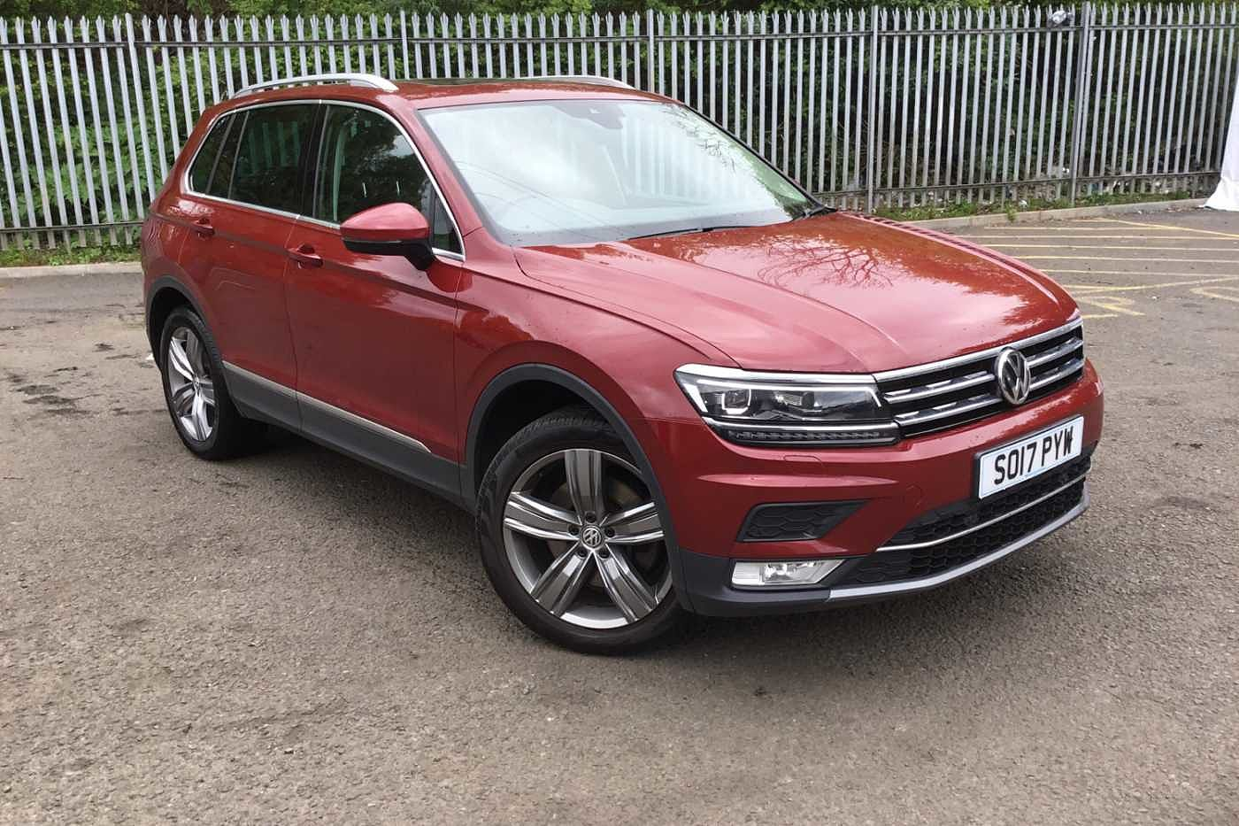 2017 Tiguan 2.0 TSI 180PS SEL 4Motion DSG 5 for Sale in Edinburgh