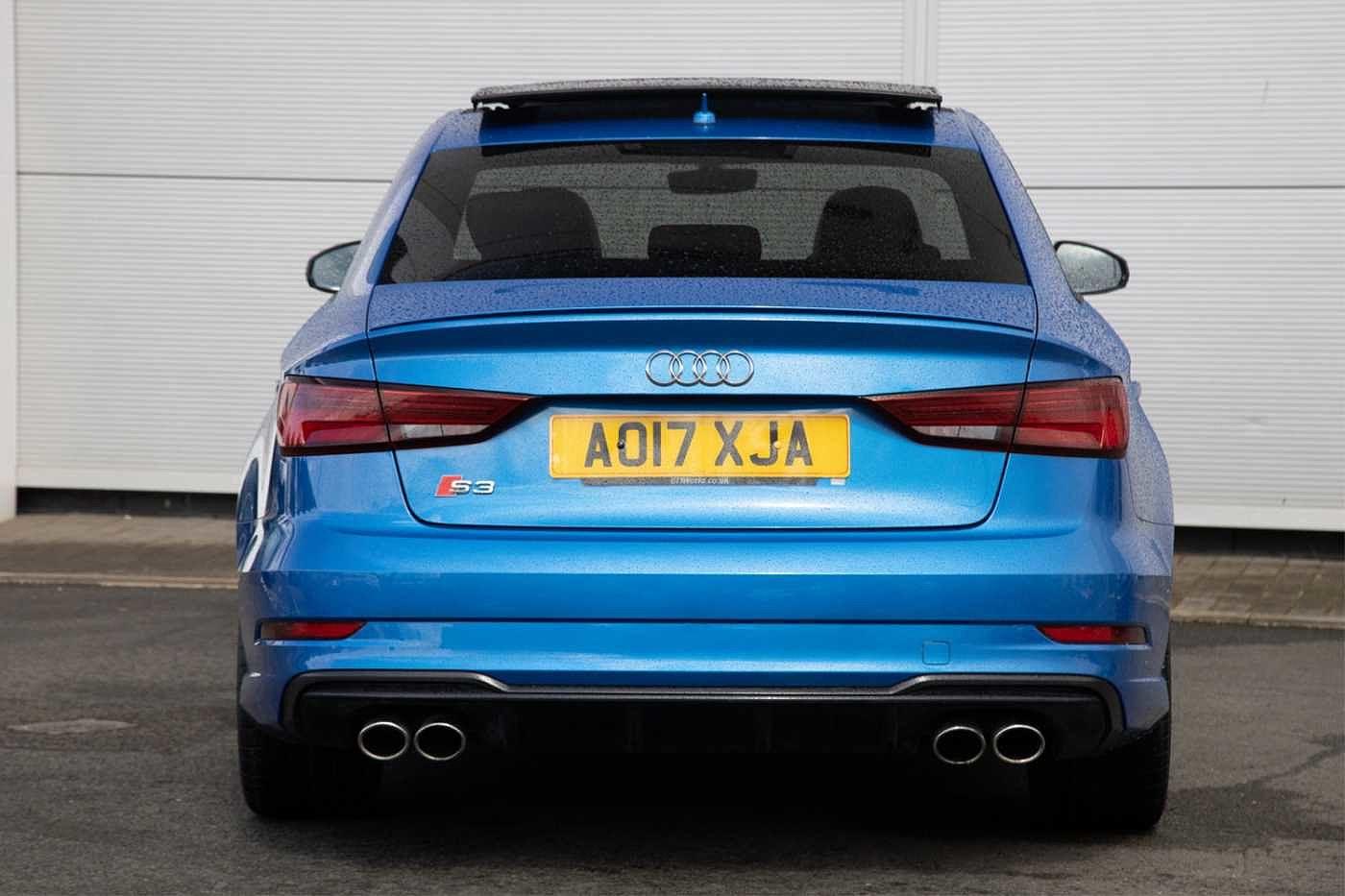 Used 2017 Audi S3 in Ara Blue for Sale in Edinburgh, only ...