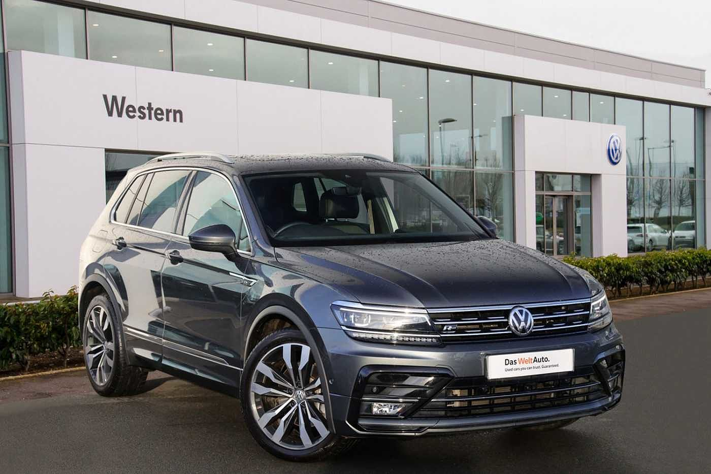 2019 Tiguan 2.0 TDI 190PS R-Line Tech SCR 4Motion DSG for Sale in Edinburgh